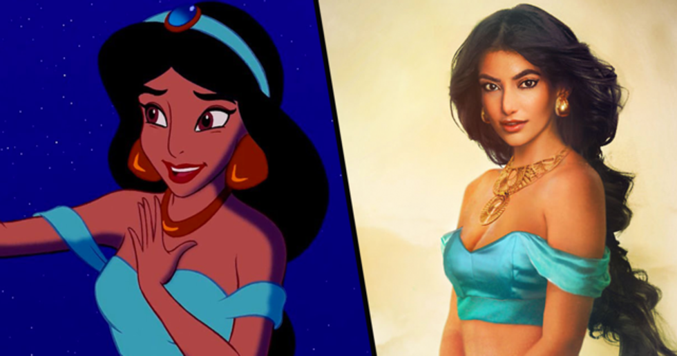 Artist Reimagines Disney Characters as Real People and They're Amazingly Magical
