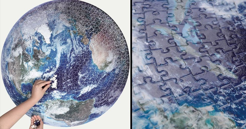 You Can Now Get NASA's Clearest Ever Picture of The Earth As a Jigsaw