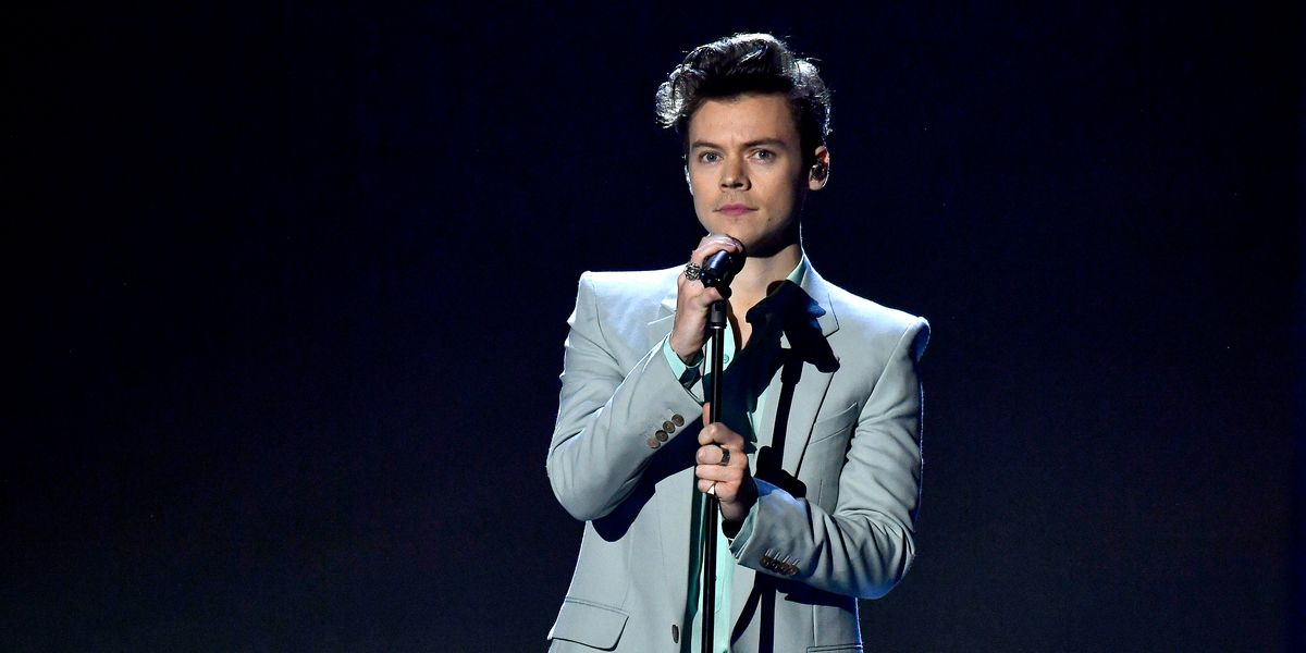Harry Styles's Quarantine Mustache Sparks Internet Debate