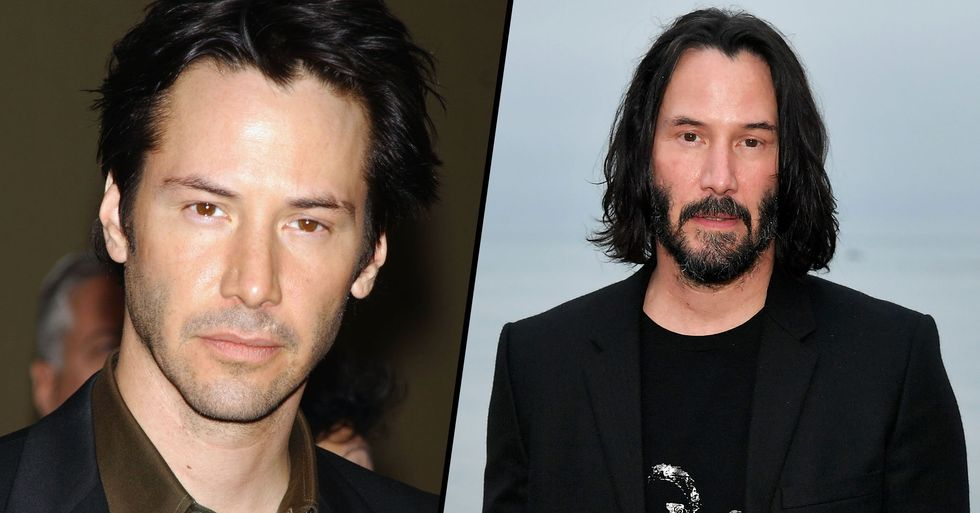 Keanu Reeves Is Auctioning off a Date With Himself for Kids' Cancer Charity