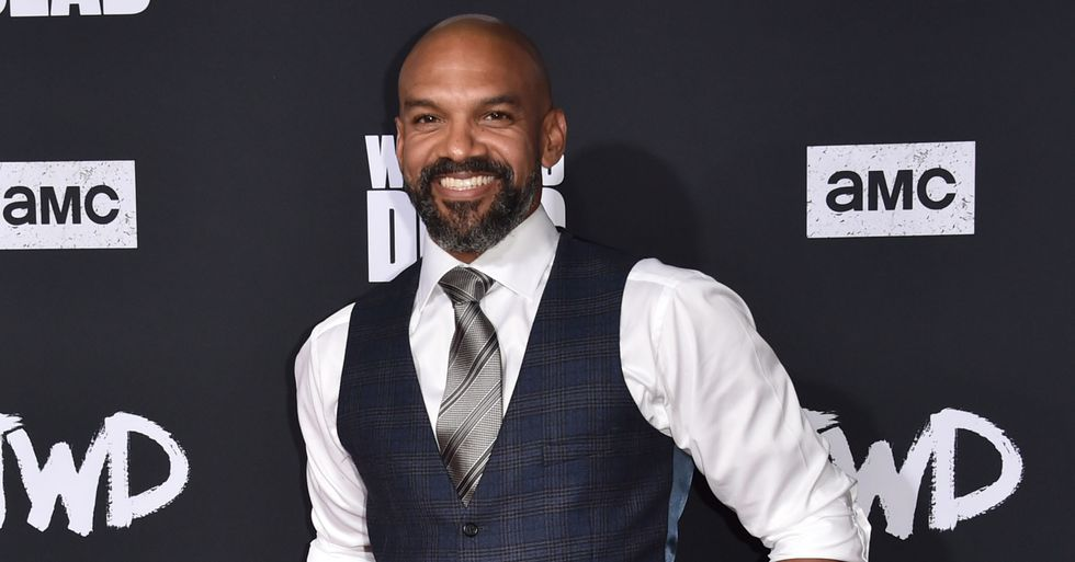 'The Walking Dead' Star Khary Payton Proudly Introduces His Trans Son
