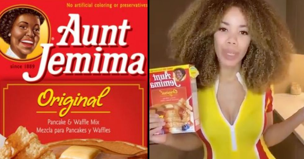 People Are Throwing Away Their 'Aunt Jemima' Pancake Mixes After Discovering Racist Origins of the Brand