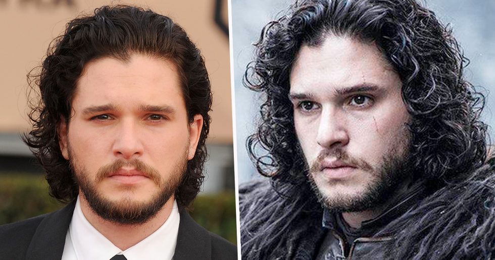 Kit Harington Has Shaved off All of His Glorious Hair