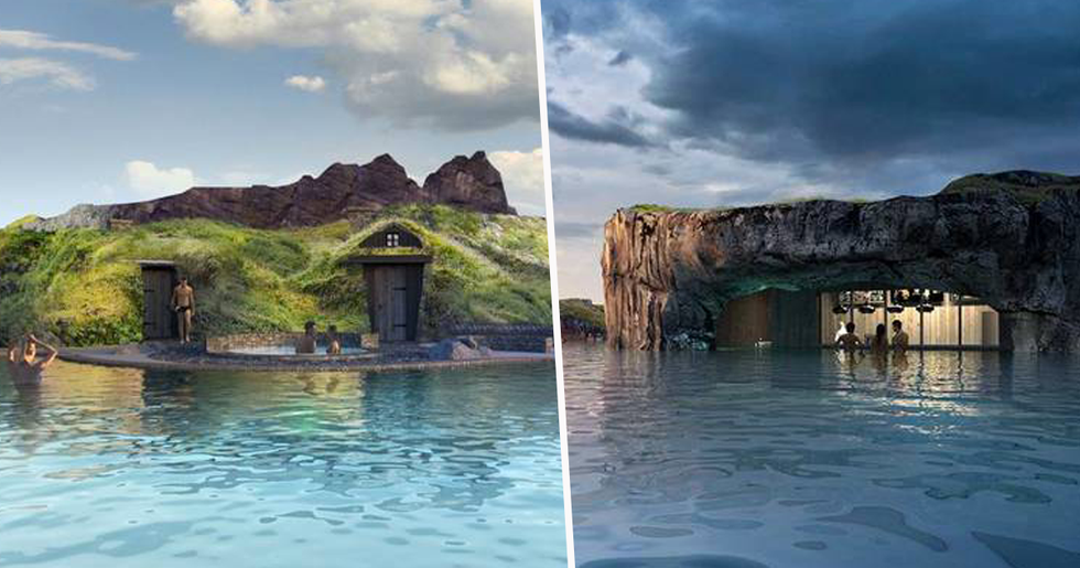 New Geothermal Lagoon With a Swim-Up Bar Set to Open in Iceland