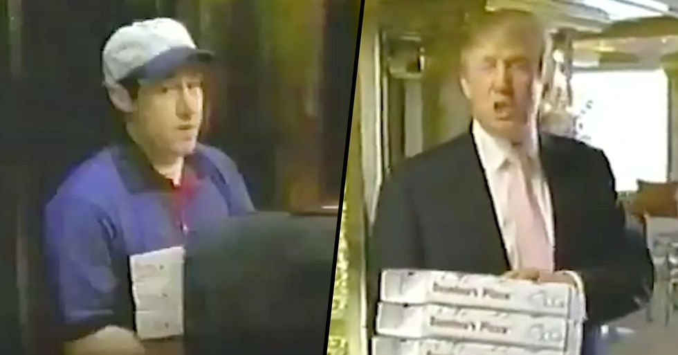 A Domino's Advert Featuring Donald Trump Has Just Resurfaced and It's So Bizarre