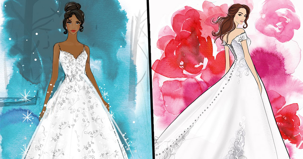 Disney Release Princess Wedding Dresses for Your Own Special Happily Ever After