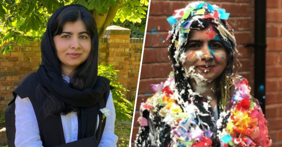 Malala Yousafzai Graduates From Oxford University 8 Years After Being Shot