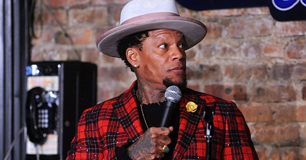 D.L. Hughley Collapses on Stage in Nashville