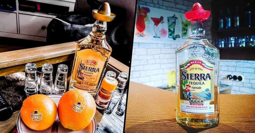 People Shocked After Realizing the Sombrero on Sierra Tequila Bottle Is for Salt