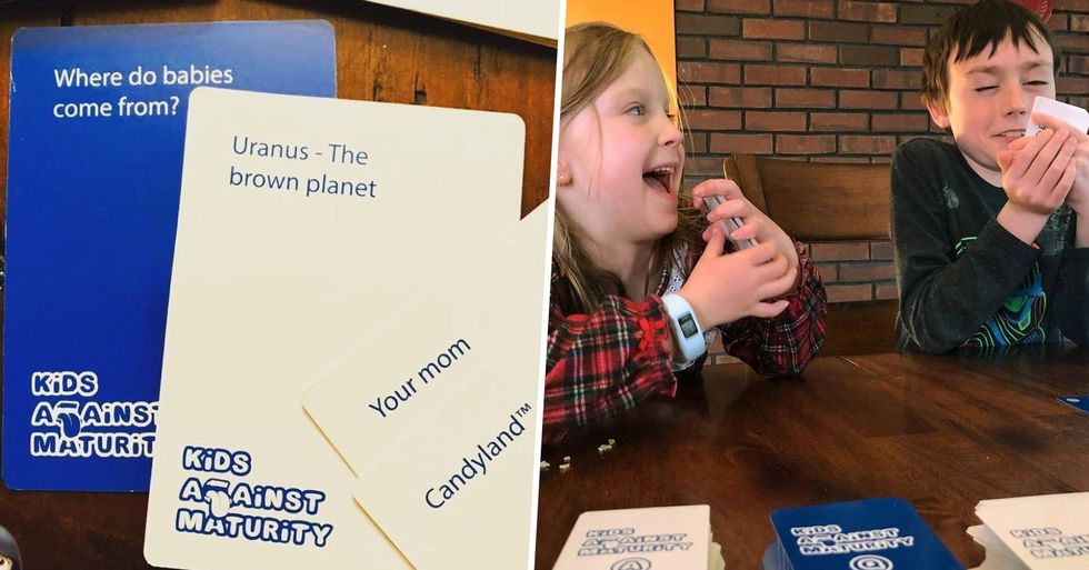 Kids Against Maturity Is the Best New Card Game for Family Game Night