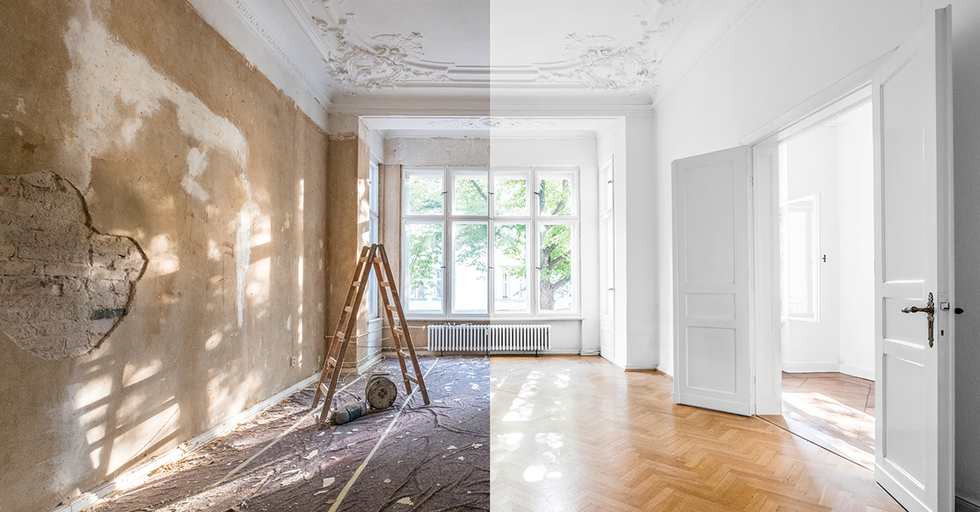 Incredible Before and Afters of Remodeled Luxury Mansions