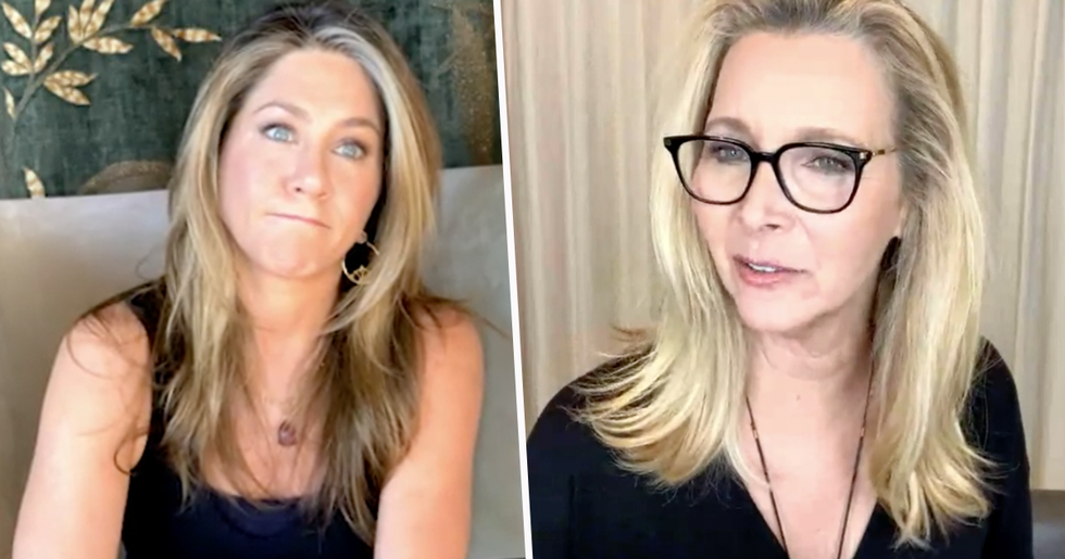 Jennifer Aniston and Lisa Kudrow Struggle to Remember 'Friends' in New Video