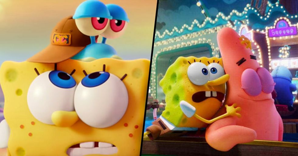 New 'SpongeBob' Movie Has Been Pulled From Theaters
