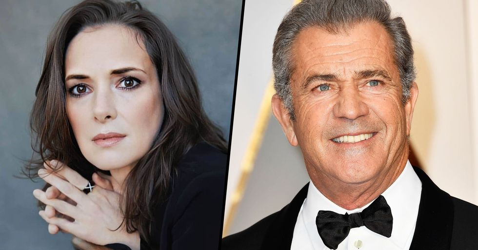 Winona Ryder Says Mel Gibson Once Called Her an 'Oven Dodger' Because She's Jewish