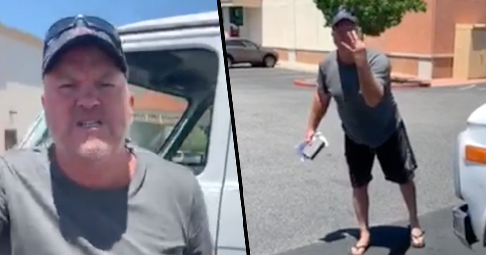 California Man Has Horrific Racist Meltdown After Black Store Manager Asks Him to Wear Mask