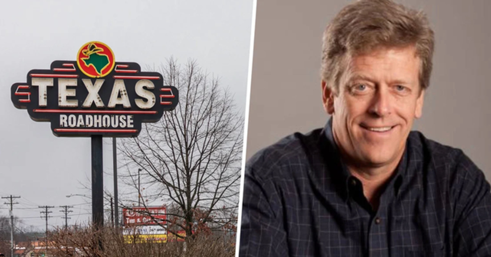 Texas Roadhouse CEO Gave Away His Salary and Bonus of $800k to Help Employees During Pandemic