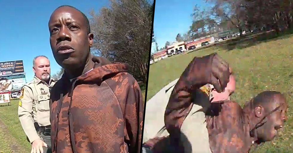 Police Officer Allegedly Slammed Black Man to the Ground and Broke His Wrist After Mistaking Him for Suspect