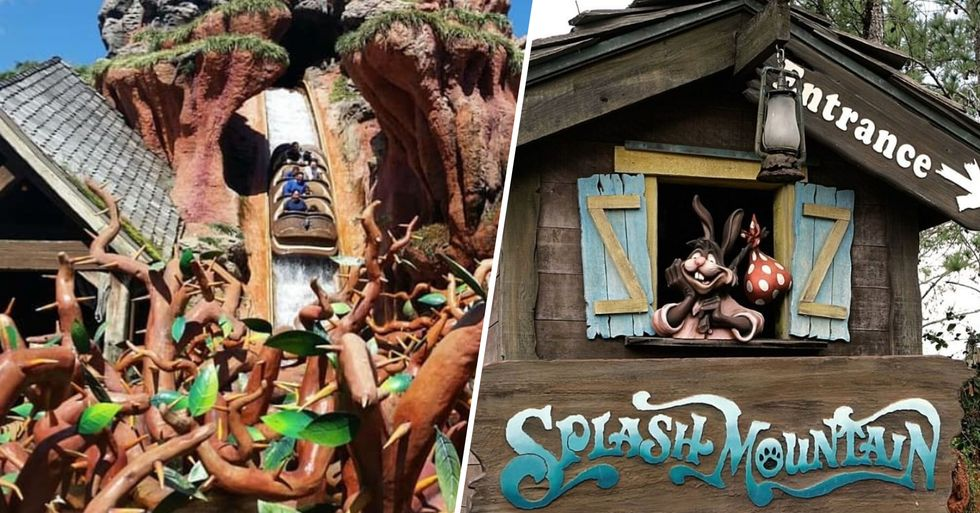 Disney Change the Theme of Beloved Ride 'Splash Mountain' After Racism Outcry