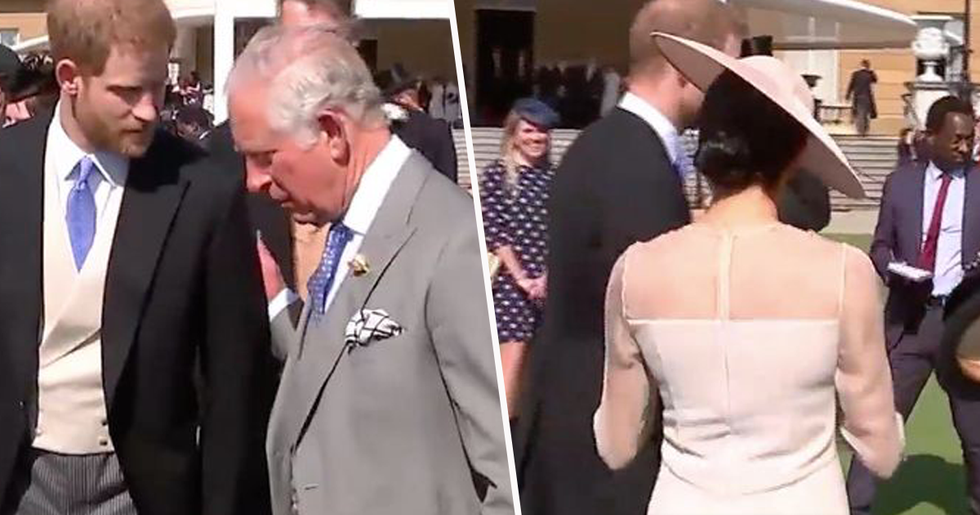 Lip Reader Confirms What Prince Charles Said to Meghan and Harry Before Meghan Was 'Escorted Out of Party'