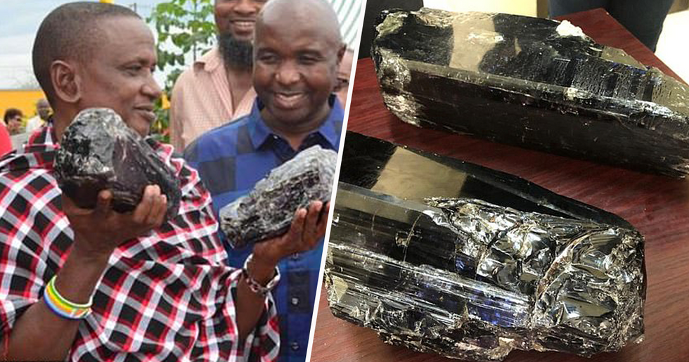 Tanzanian Miner Becomes Millionaire Overnight After Digging up Rare Gemstones
