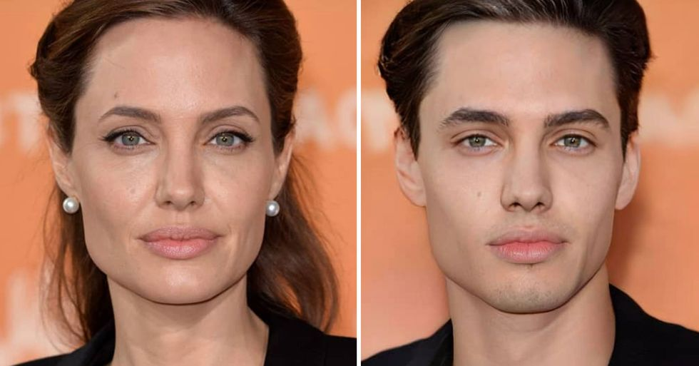 Someone Decided to Gender-Swap Celebrities' Photos and the Result Is Better Than Expected