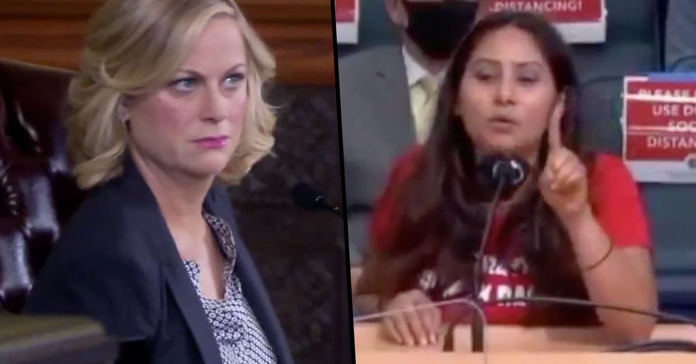 Someone Edited Clips of People Freaking Out About Masks Into a 'Parks and Rec' Episode and It Works Perfectly