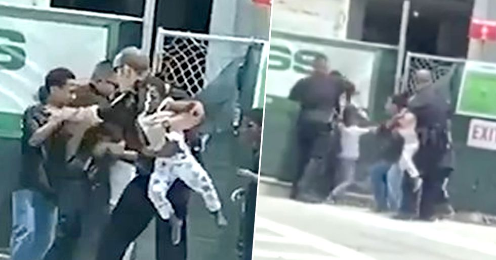 Florida Cops Forcefully Separate Children From Mother