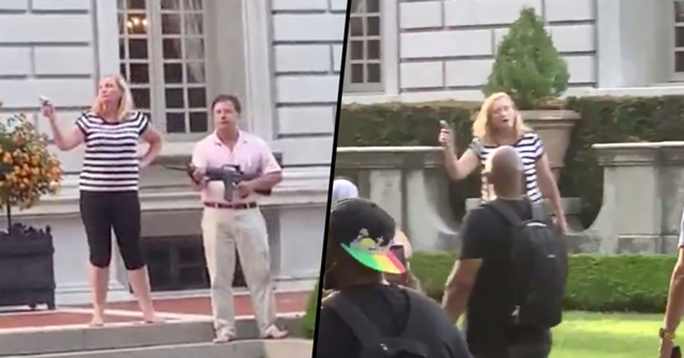 Couple Who Drew Guns on 'Black Lives Matter' Protesters Respond to Backlash