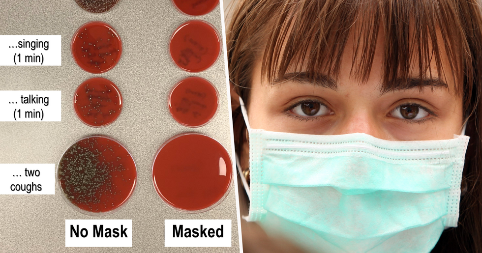 Microbiologist Shuts Down All 'Karens' by Demonstrating How Important Wearing a Mask Is