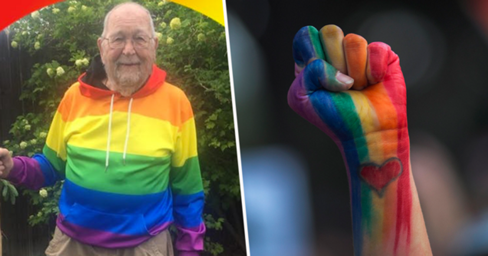 90-Year-Old Man Comes Out As Gay Because He 'Can't Forget The Man He Fell in Love With 70 Years Ago'