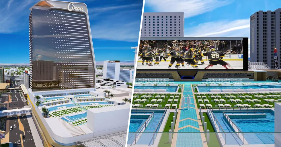 Adults Only Casino Set to Open in Las Vegas Will Have America's Largest Pool Amphitheater