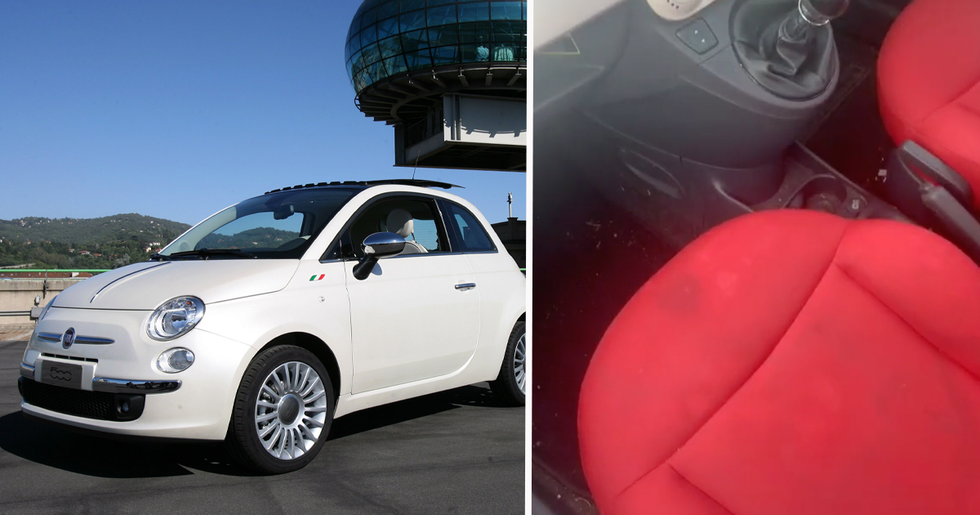 Fiat 500s All Have Multiple Secret Compartments So People Have Been Pointing Them Out