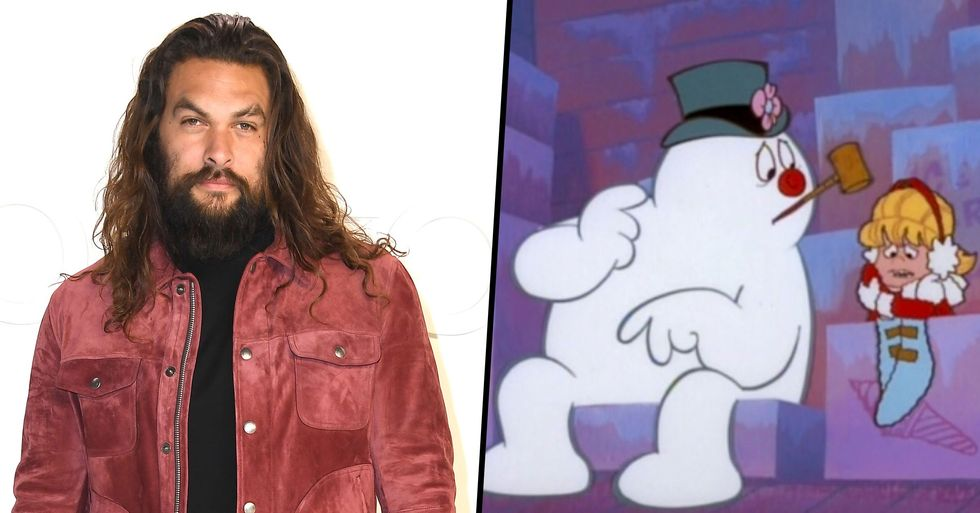People Have a Huge Problem With Jason Momoa Being Cast as Frosty the Snowman