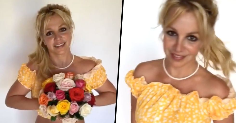 People Think There's a Sinister Message Behind Britney Spears' Latest Instagram Video