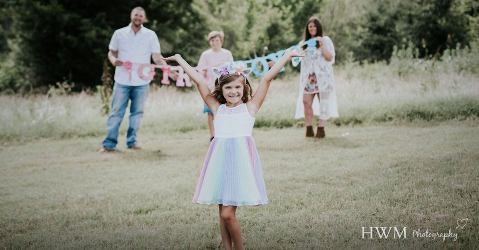 Parents Hold a Gender Reveal for Their 6-Year-Old Transgender Daughter