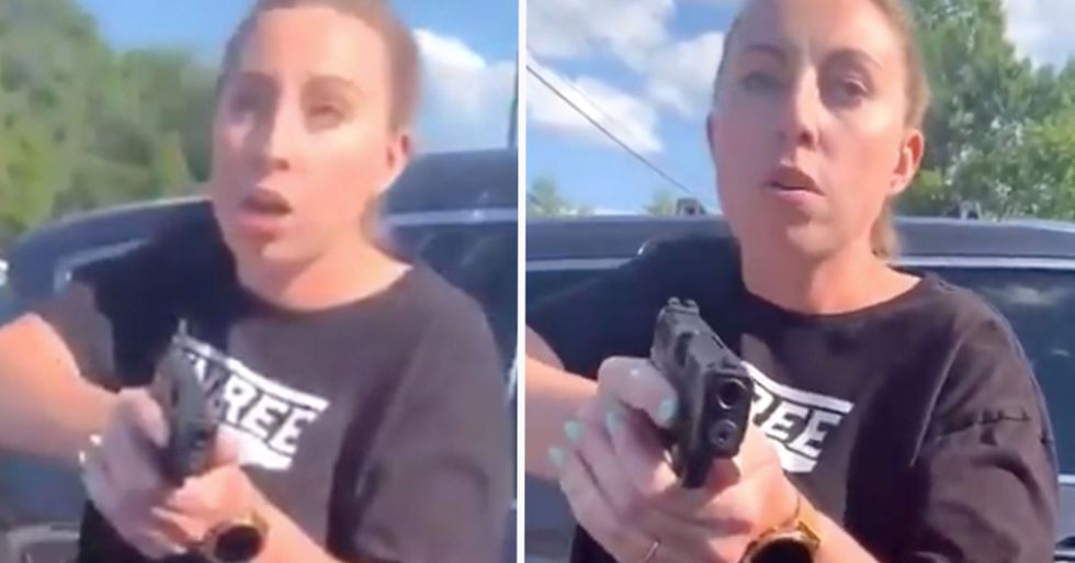 White Couple Arrested After Gun Was Pulled on Black Family in Chipotle Parking Lot