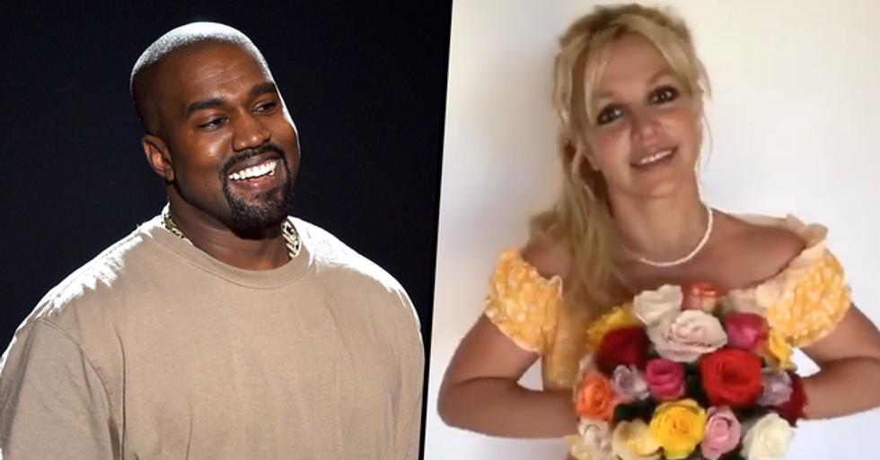 People Are Furious After Comparing the Way We Treat Kanye West and Britney Spears' Mental Health Issues