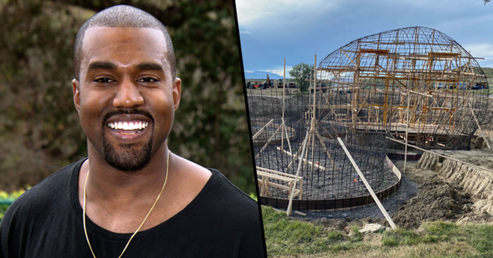 Kanye West Shares Photo of His Homeless Shelters Being Rebuilt
