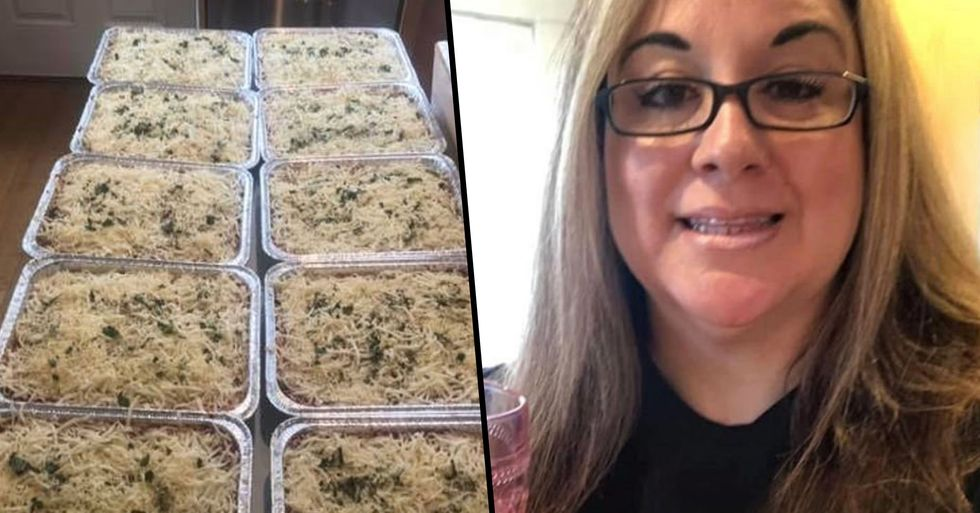 Woman Who Lost Her Job Makes Over 1,275 Lasagnas for People in Need