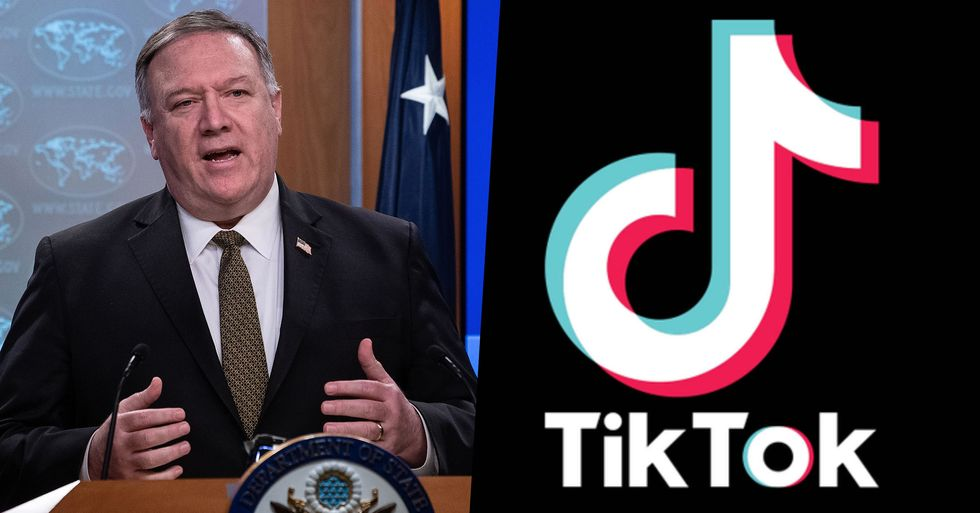 Mike Pompeo Says the U.S Is Considering Banning TikTok
