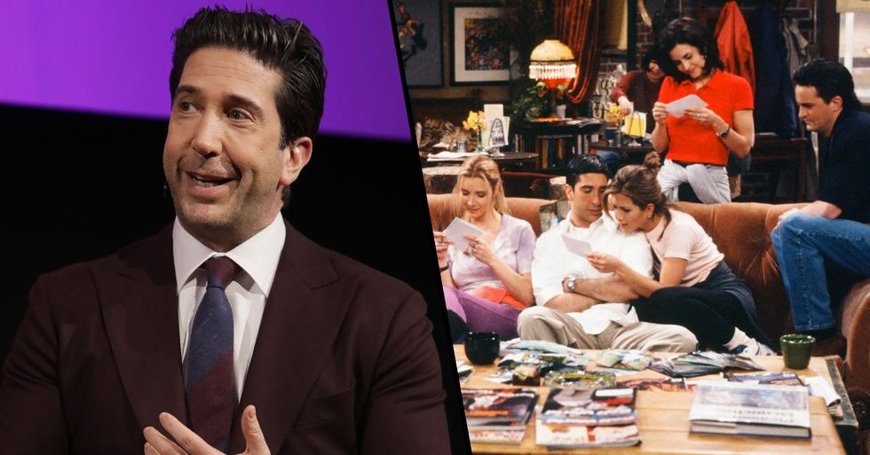David Schwimmer Says Lack of People of Color on 'Friends' Was 'Wrong'