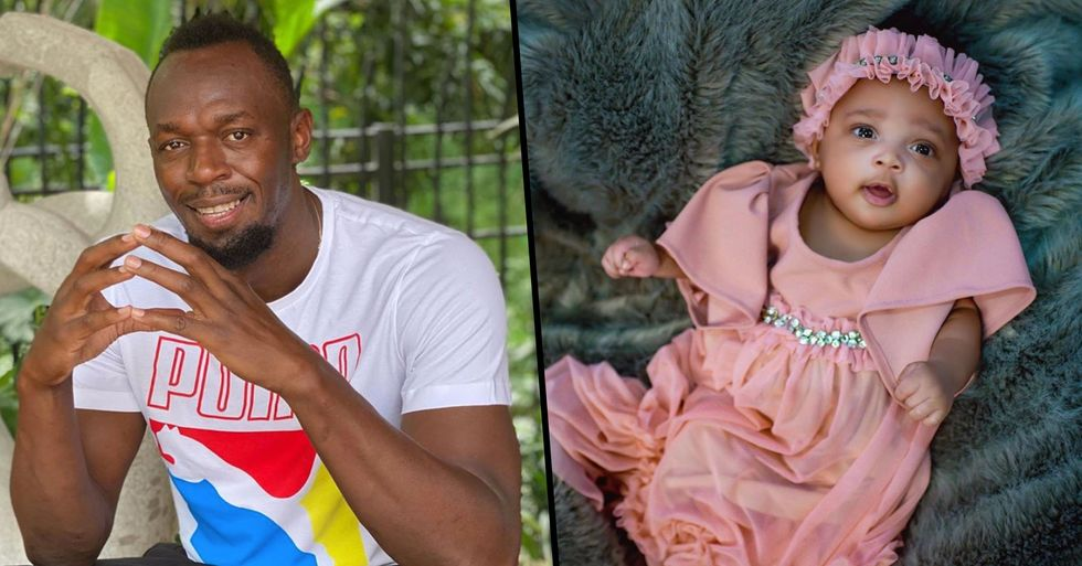 Social Media Mocks the 'Ridiculous' Name Usain Bolt Gave to His Daughter