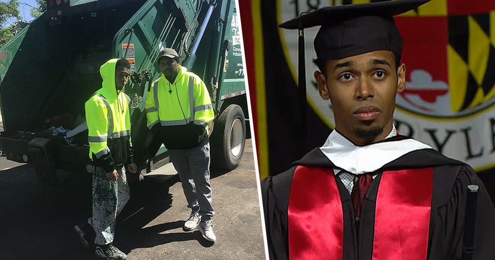Student Who Worked as Garbage Man to Support Family Accepted Into Harvard Law School