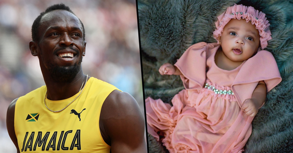 Everyone's Saying the Same Thing About Usain Bolt's Baby Name