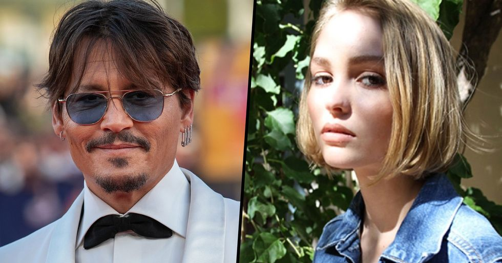 Johnny Depp Admits to Giving His 13-Year-Old Daughter Marijuana