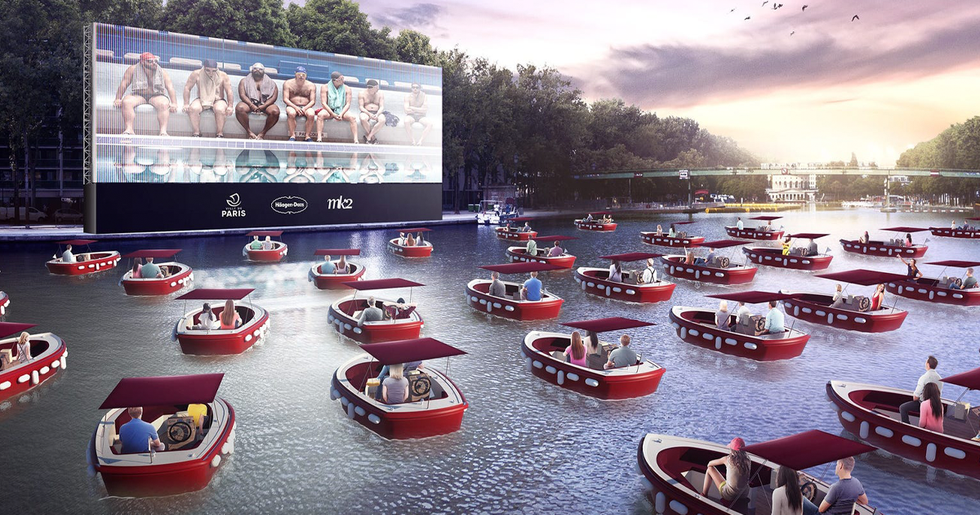 A Floating Movie Theater Is Coming to Paris and It Looks Incredible