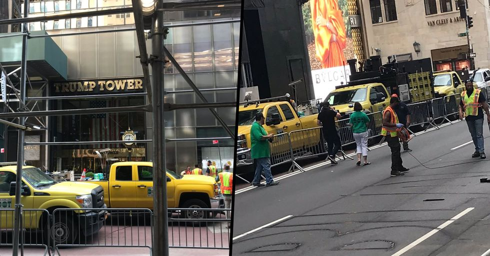 NYC Closes Fifth Avenue to Traffic to Paint Huge Black Lives Matter Mural