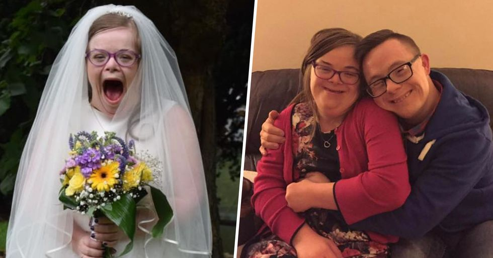 Down's Syndrome Campaigner Gets Married With 10,000 Watching the Ceremony Online