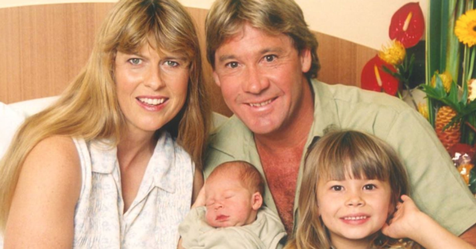 Robert Irwin Is The Spitting Image of Dad Steve in Snake Bite Post