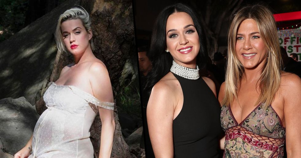 Katy Perry Chooses Jennifer Aniston to Be Her Daughter's Godmother